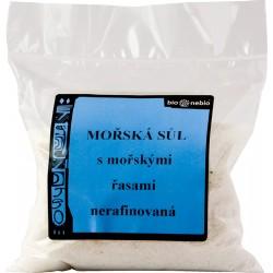 Morská soľ jódovaná morskými riasami - 300 g