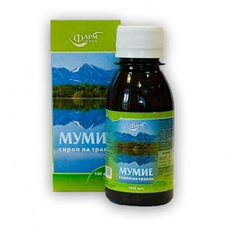 Bylinný sirup s Mumiem - 100 ml