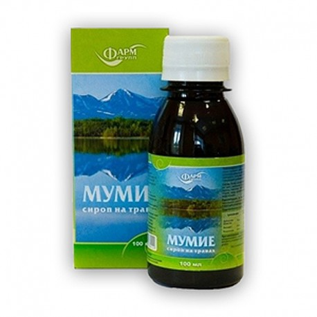 Bylinný sirup s Mumiom - 100 ml