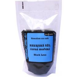 Hawaiisches schwarz Meersalz - 300 g