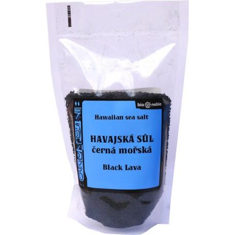 Havajská mořská sůl černá - 300 g