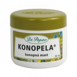 Konopná mast KONOPELA-50ml